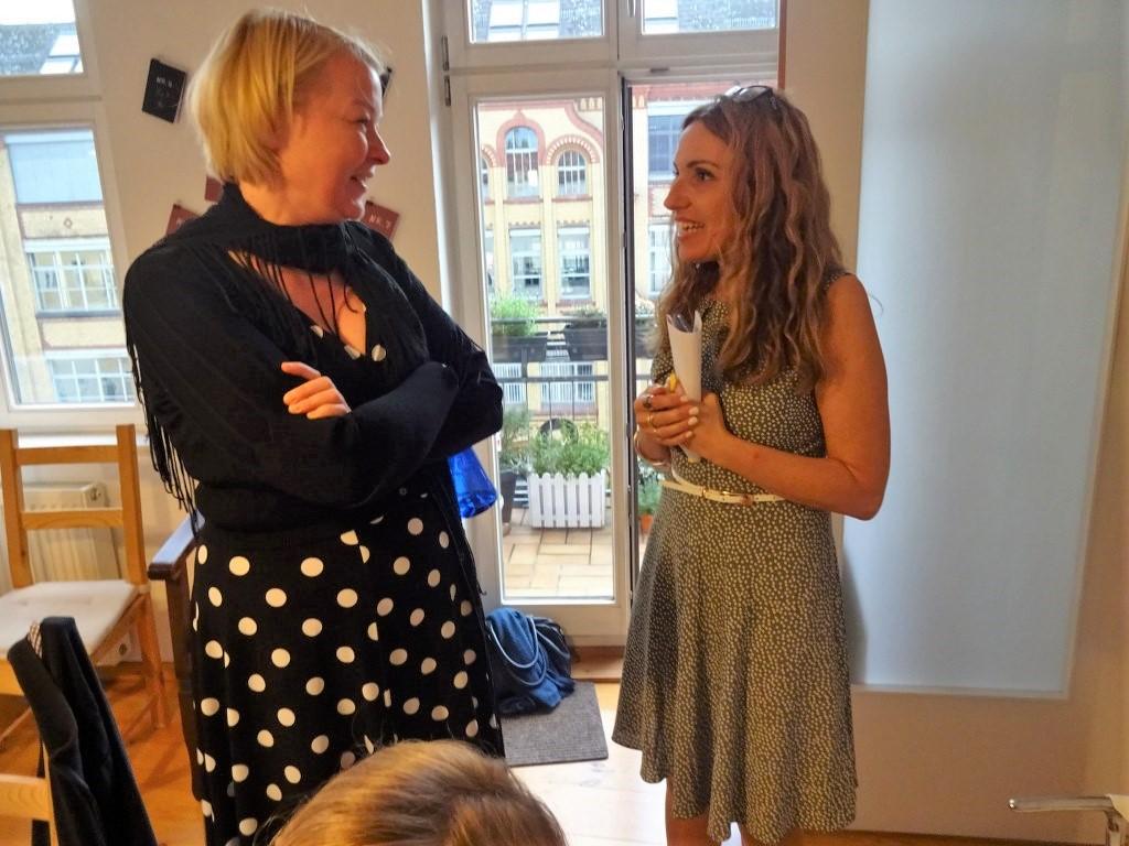 Impressionen von der Ausstellung Wegschütten, Cristina Wiedebusch und Anna Maria Weber (c) Foto von Susanne Haun