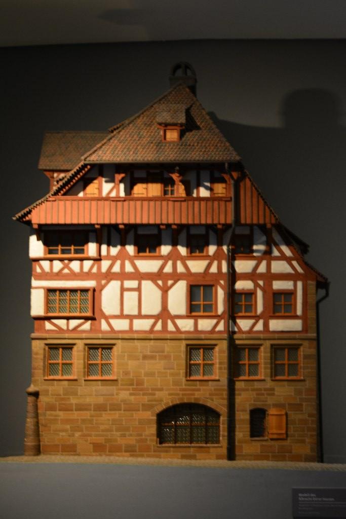 Innen im Museum steht ein Modell des Dürer Haus (c) Foto von M.Fanke