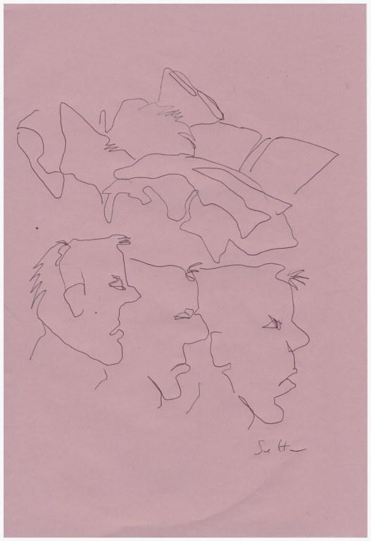 Diskussion (c) Zeichnung von Susanne Haun