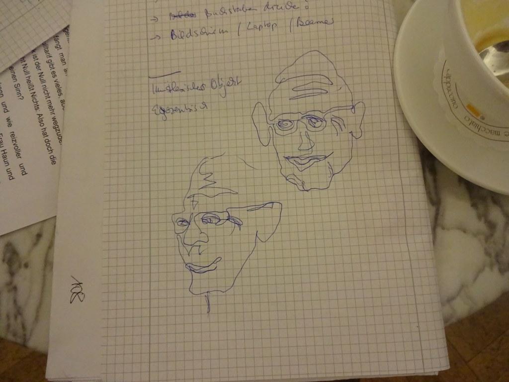 Jürgen (c) Skizze von Susanne Haun