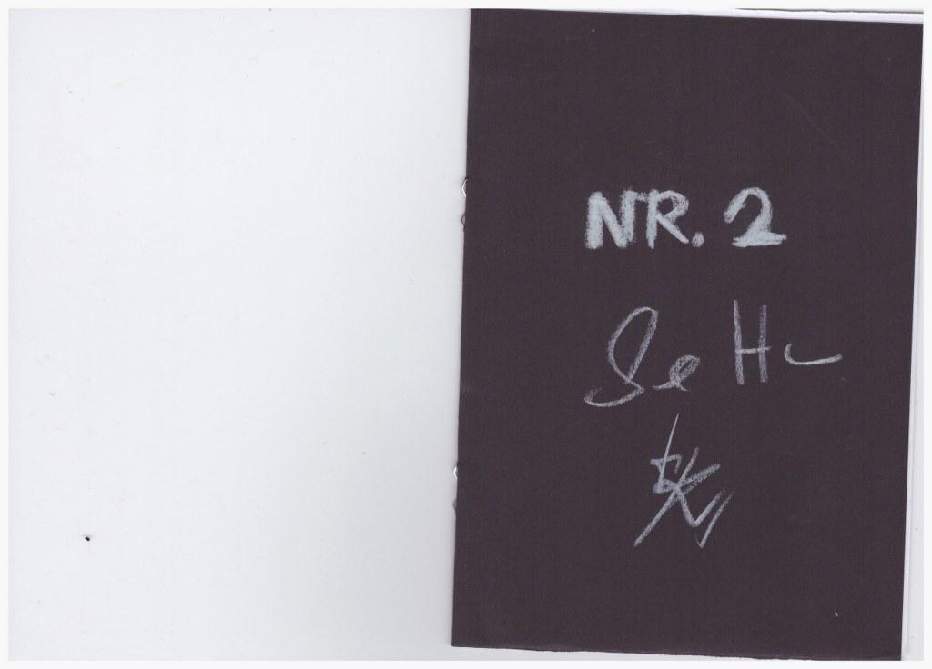 Nr. 2 - Heftchen Wegschütten - Küster und Haun Umschlag