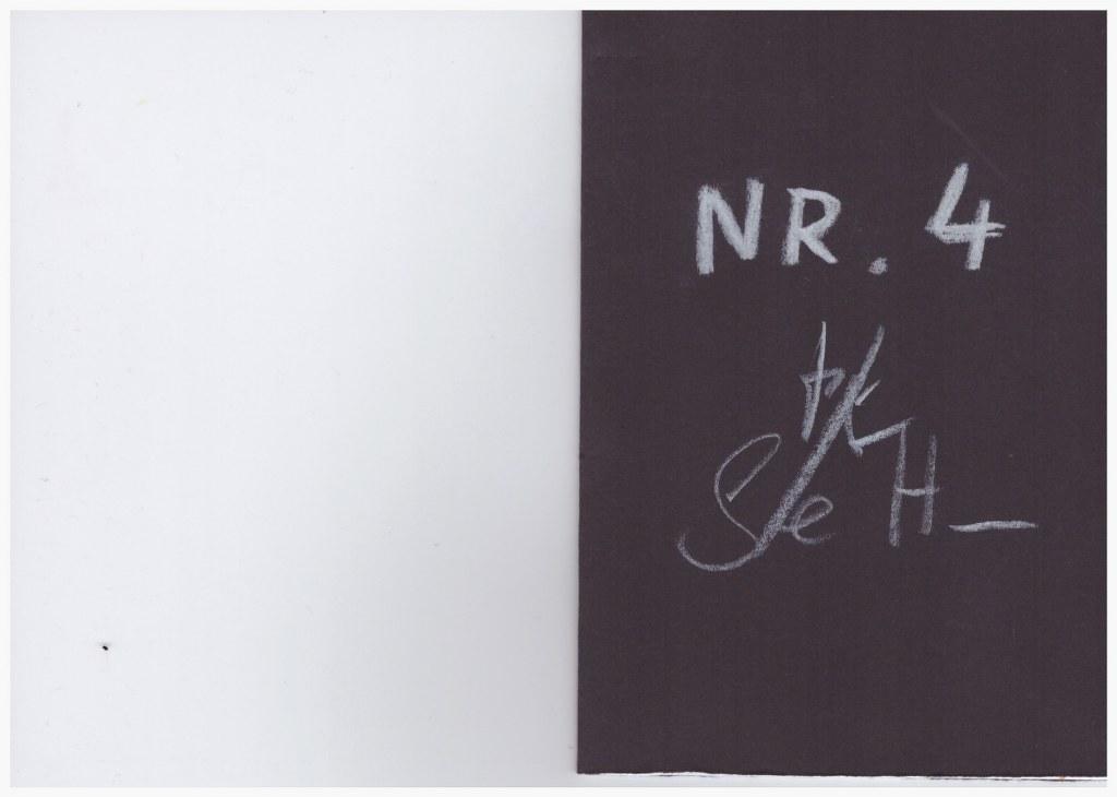 Nr. 4 - Heftchen Wegschütten - Küster und Haun Umschlag