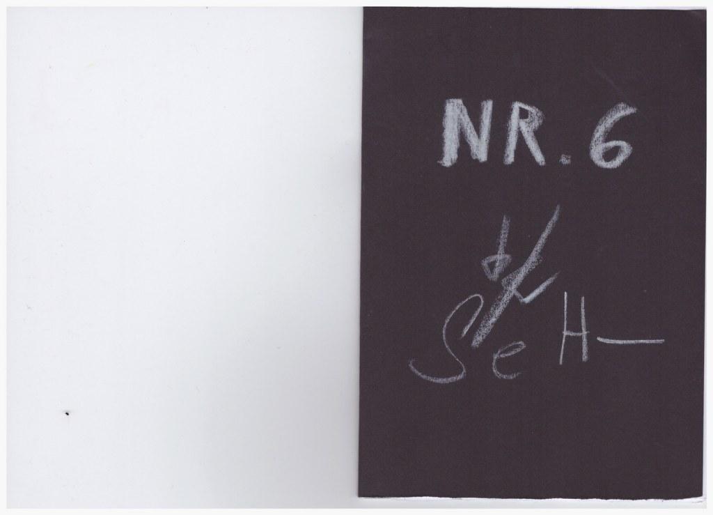 Nr. 6 - Heftchen Wegschütten - Küster und Haun Umschlag