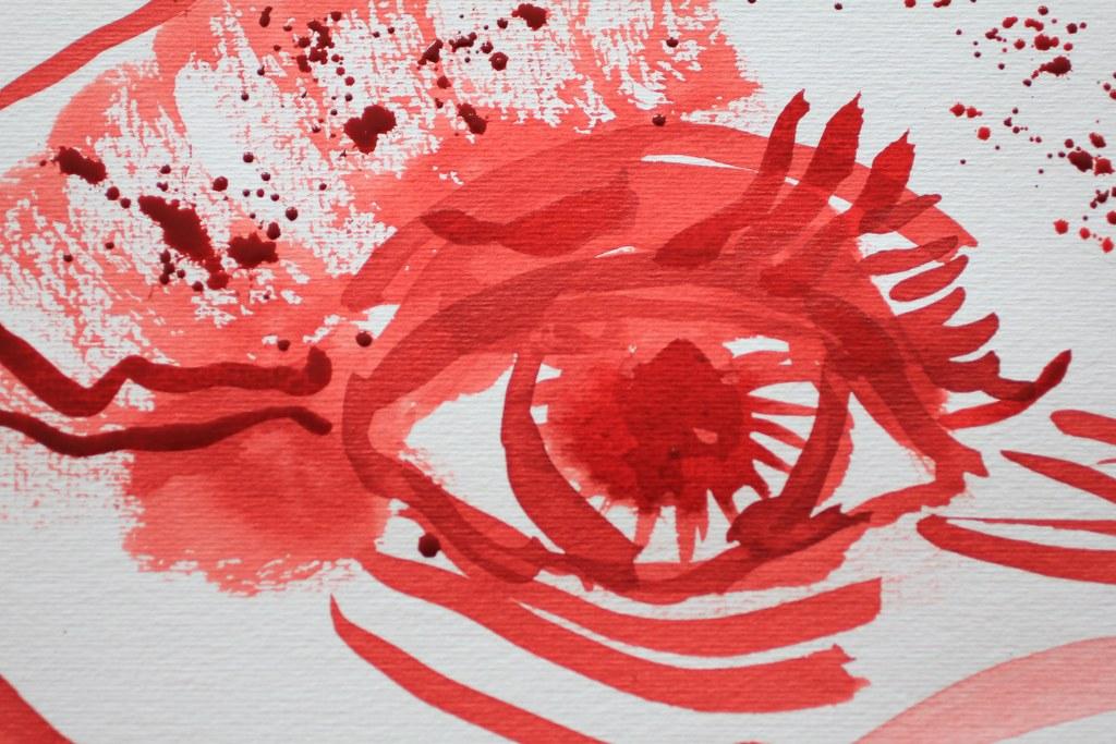 3 Detail Entstehung des Feueraffen (c) Zeichnung von Susanne Haun