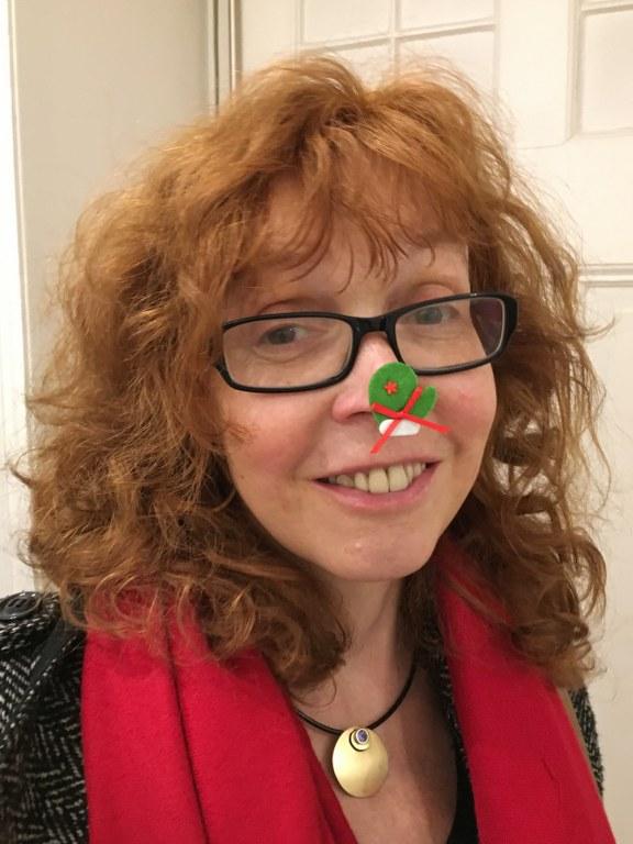 Frohe Weihnachten von Susanne Haun (c) Foto von M.Fanke
