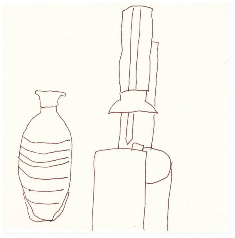 Samstag Morgen - Selter (c) Zeichnung von Susanne Haun