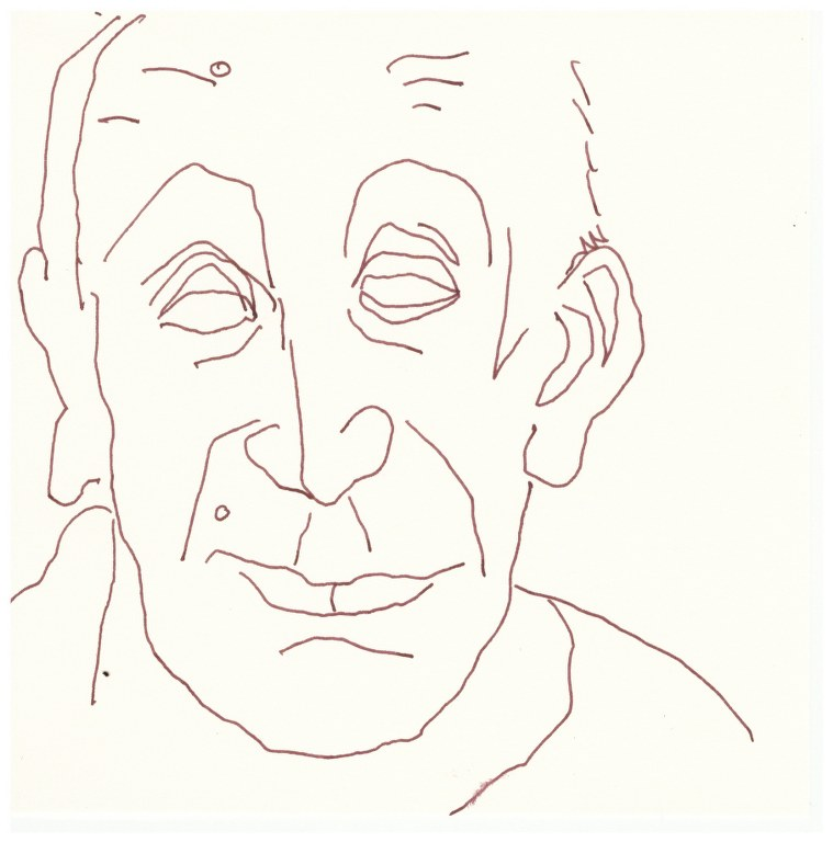 Samstag Morgen - Micha (c) Zeichnung von Susanne Haun