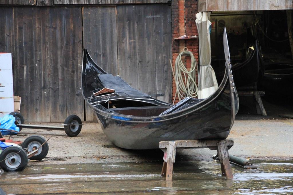 Gondelwerft Venedig (c) Foto von Susanne Haun