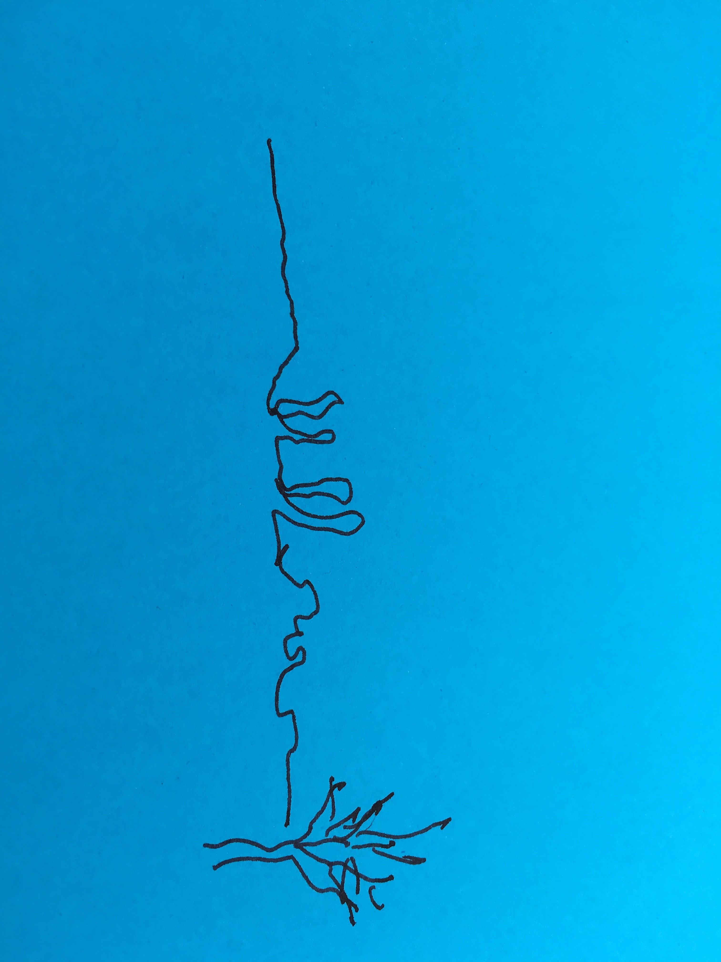 Unterwegs (c) Zeichnung von Susanne Haun