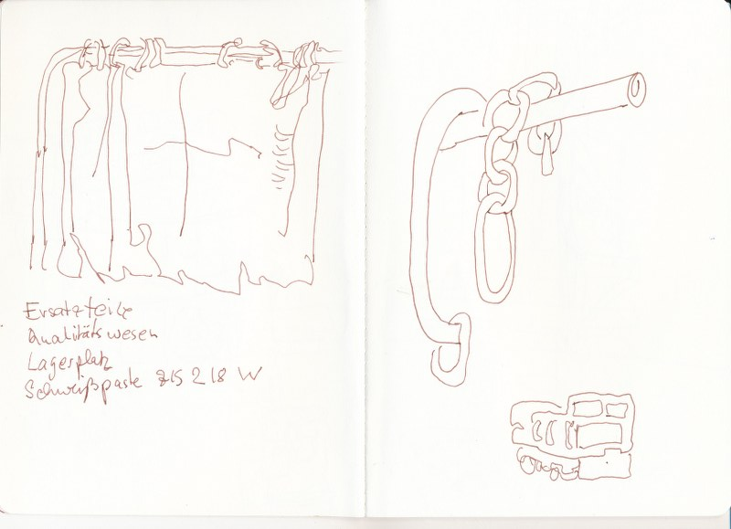Industriemuseum Brandenburg an der Havel (c) Zeichnung von Susanne Haun