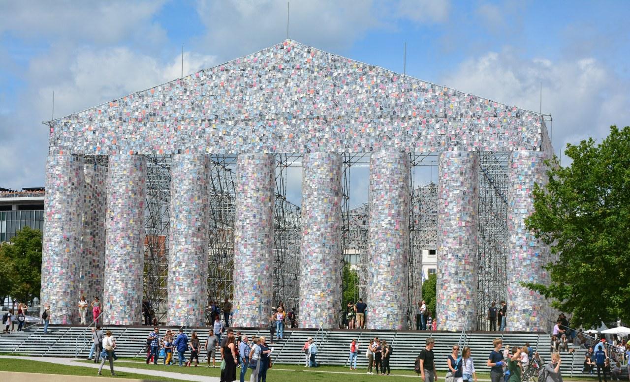 documenta 14 - Parthenon der Bücher (c) Foto von M.Fanke
