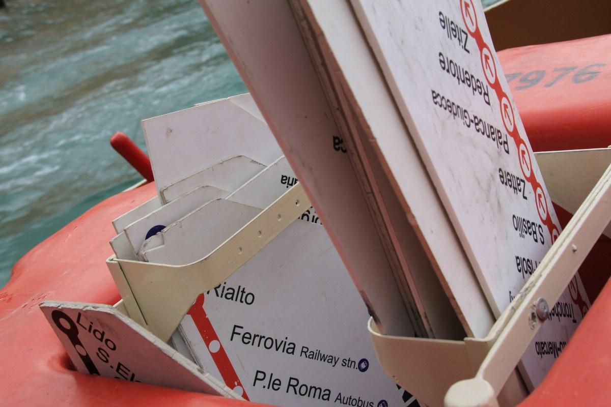 Venedig aus dem Vaporetto (c) Foto von Susanne Haun
