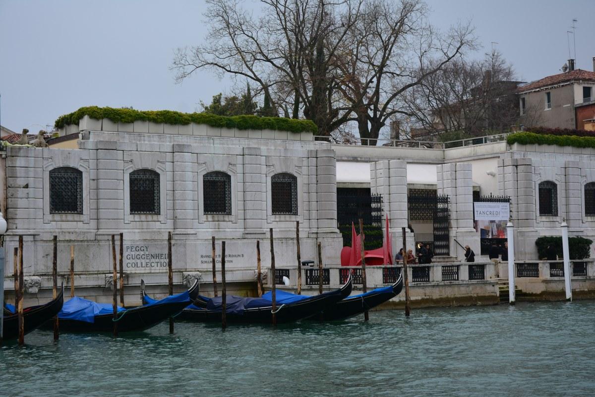 Venedig aus dem Vaporetto - Peggy Gugenheim Collection (c) Foto von M.Fanke