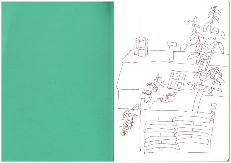 S-Bahnhof Bornholmer Str. (c) Zeichnung von Susanne Haun
