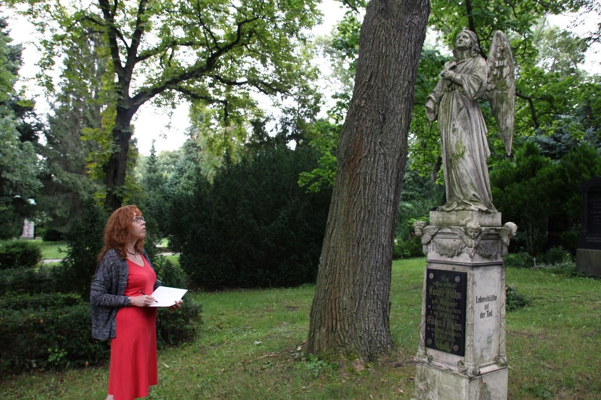 Friedhof Bergmannstr. Berlin Kreuzberg (c) Foto von M.Fanke