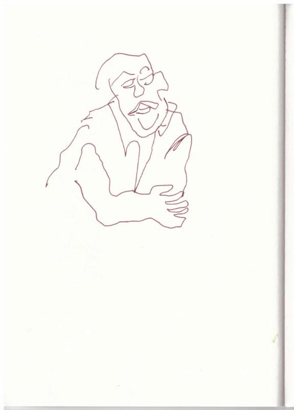 Beobachtungen (c) Zeichnung von Susanne Haun
