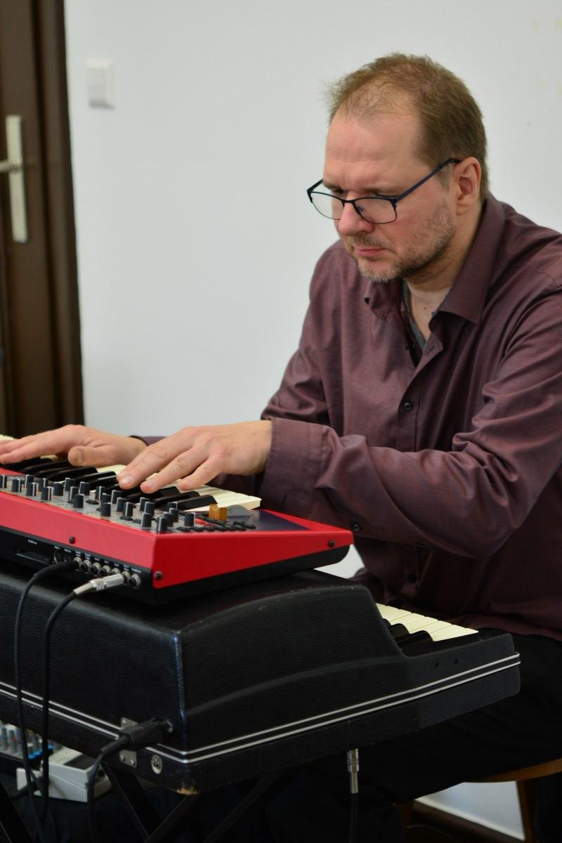 Der Musiker Achim Kaufmann (c) Foto von M.Fanke