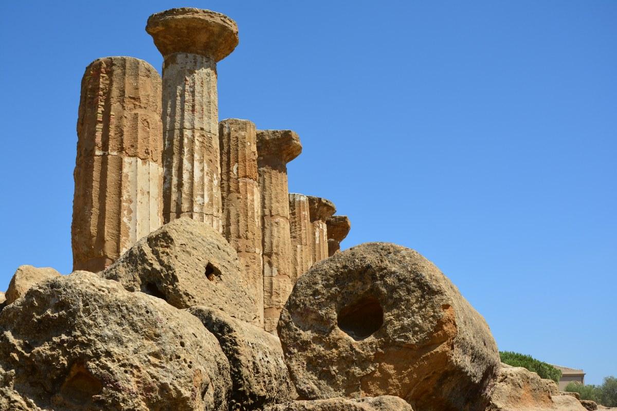 Parco valle dei Templi agrgento - Herakles (c) Foto von M.Fanke