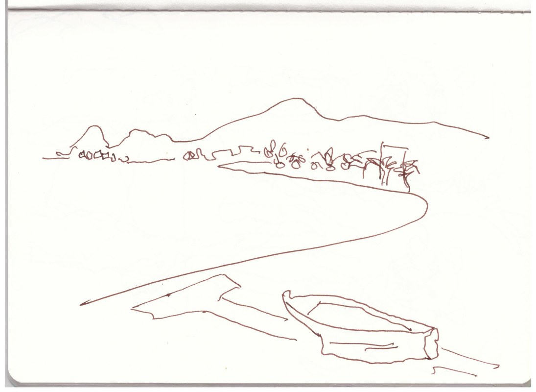 Sizilien - Skizzenbuch 2 (c) Zeichnung von Susanne Haun