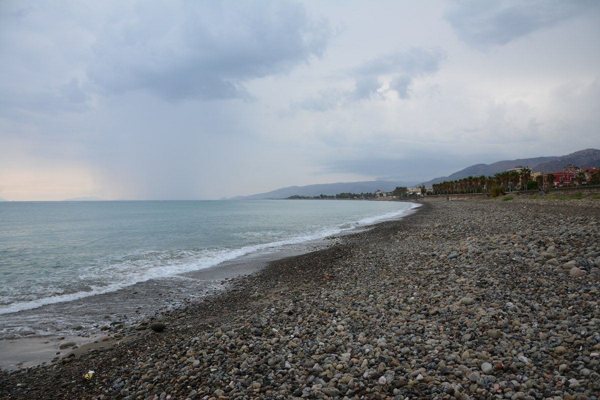 Regen in Sant'Agata di Militello (c) Foto vonM.Fanke