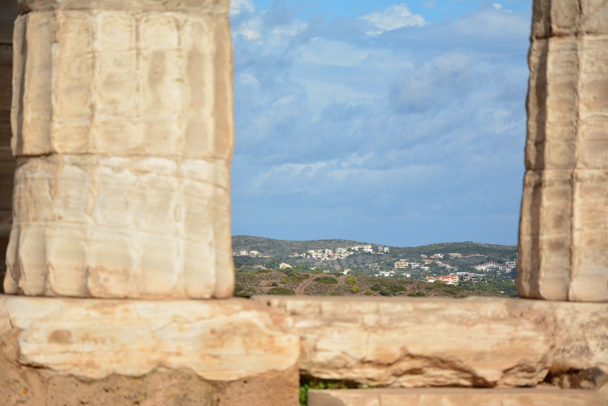 Der Poseidontempel auf der Attika (c) Foto von M.Fanke
