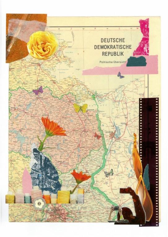 Veranderung - 40 x 30 cm - 2018 (c) Collage von DoreenTrittel Neu