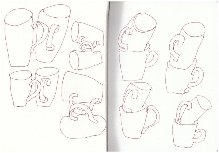 Skizzenbuch 3.12.17 - 27.12.17 (c) Zeichnung von Susanne Haun