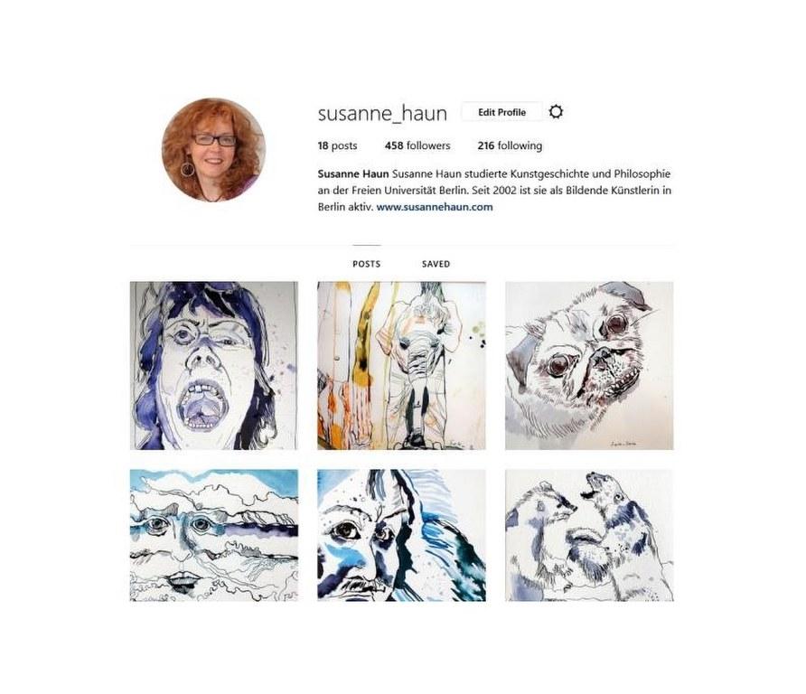 Instagram Profil Susanne Haun