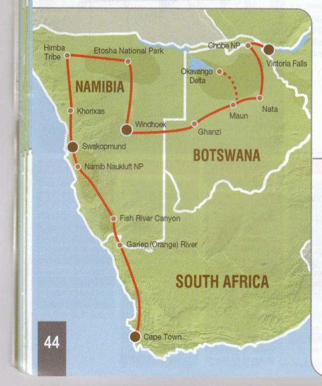Cape Town to Victoria Falls - nomadtours.co.za