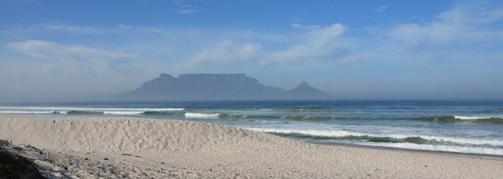Von Kapstadt zu Cederland - Blick auf den Tafelberg (c) Foto von M. Fanke