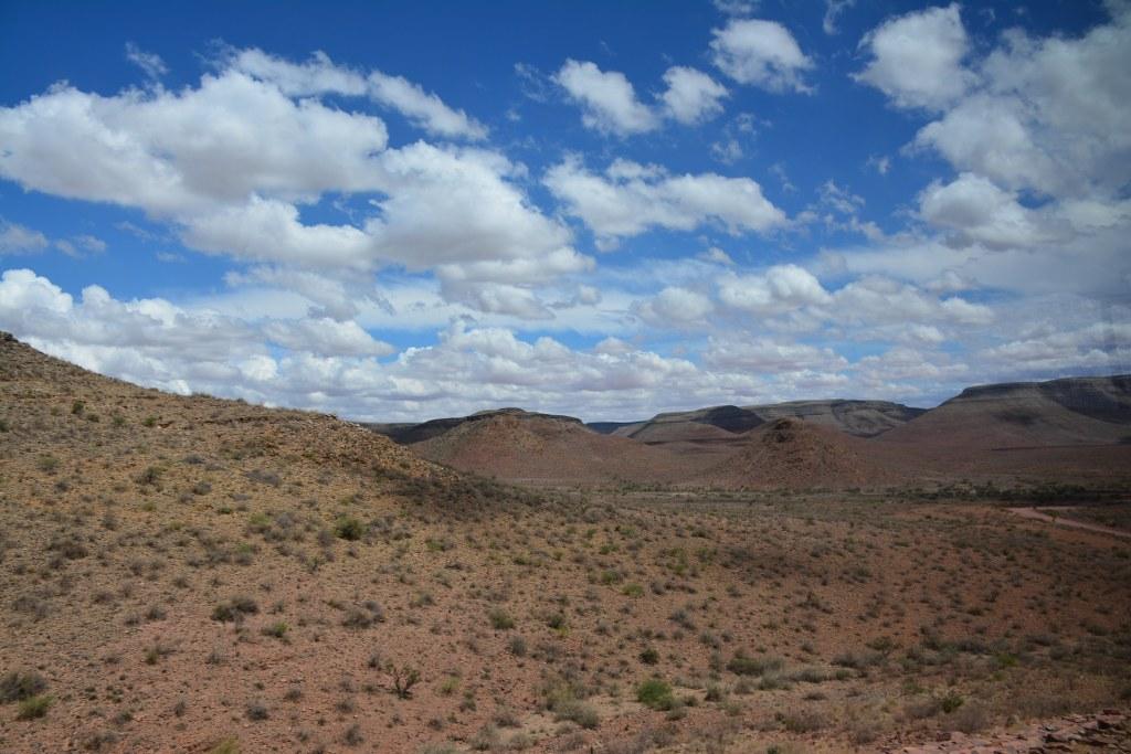 Anfahrt auf die Namib Wüste - Namibia (c) Foto von M.Fanke