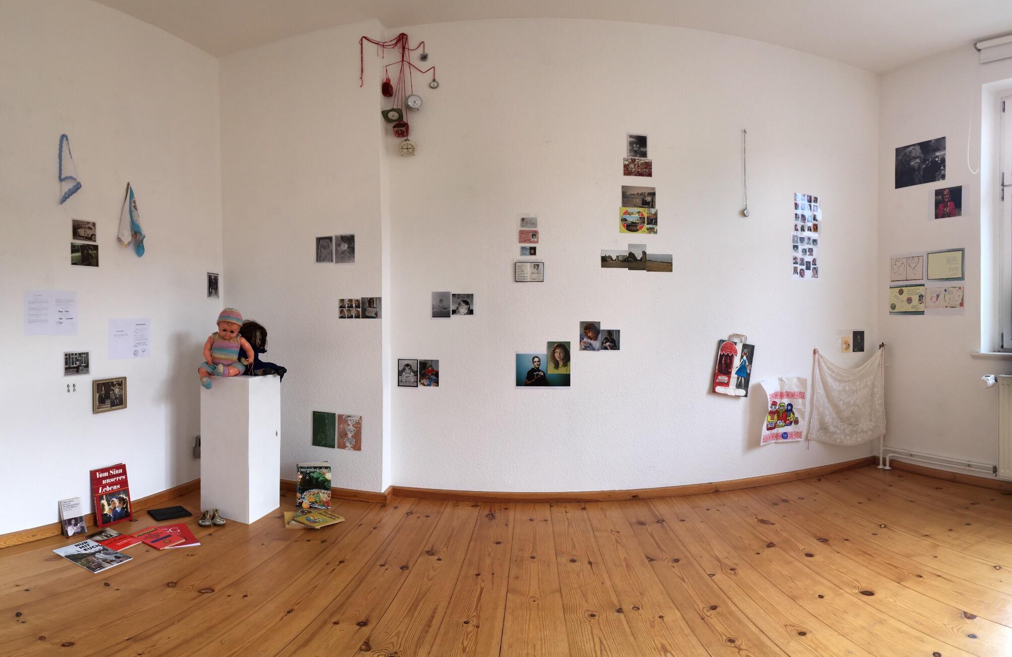 Künstlerischer Umgang mit Erinnerungen - Installation von Doreen Trittel und Susanne Haun (c) Foto von M.Fanke