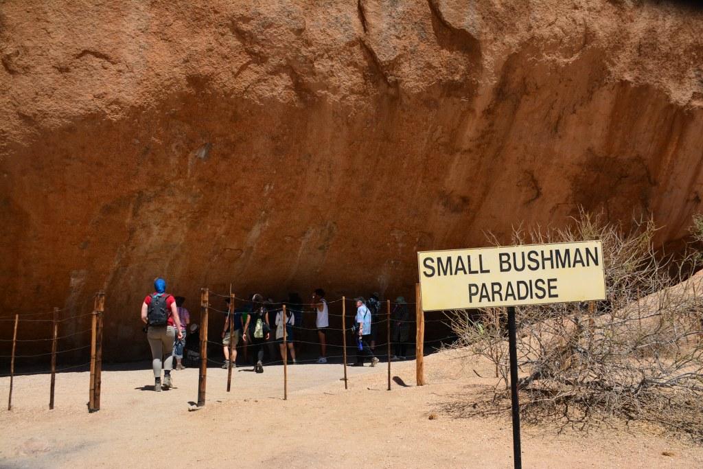 Small Bushman Paradise (c) Foto von M.Fanke