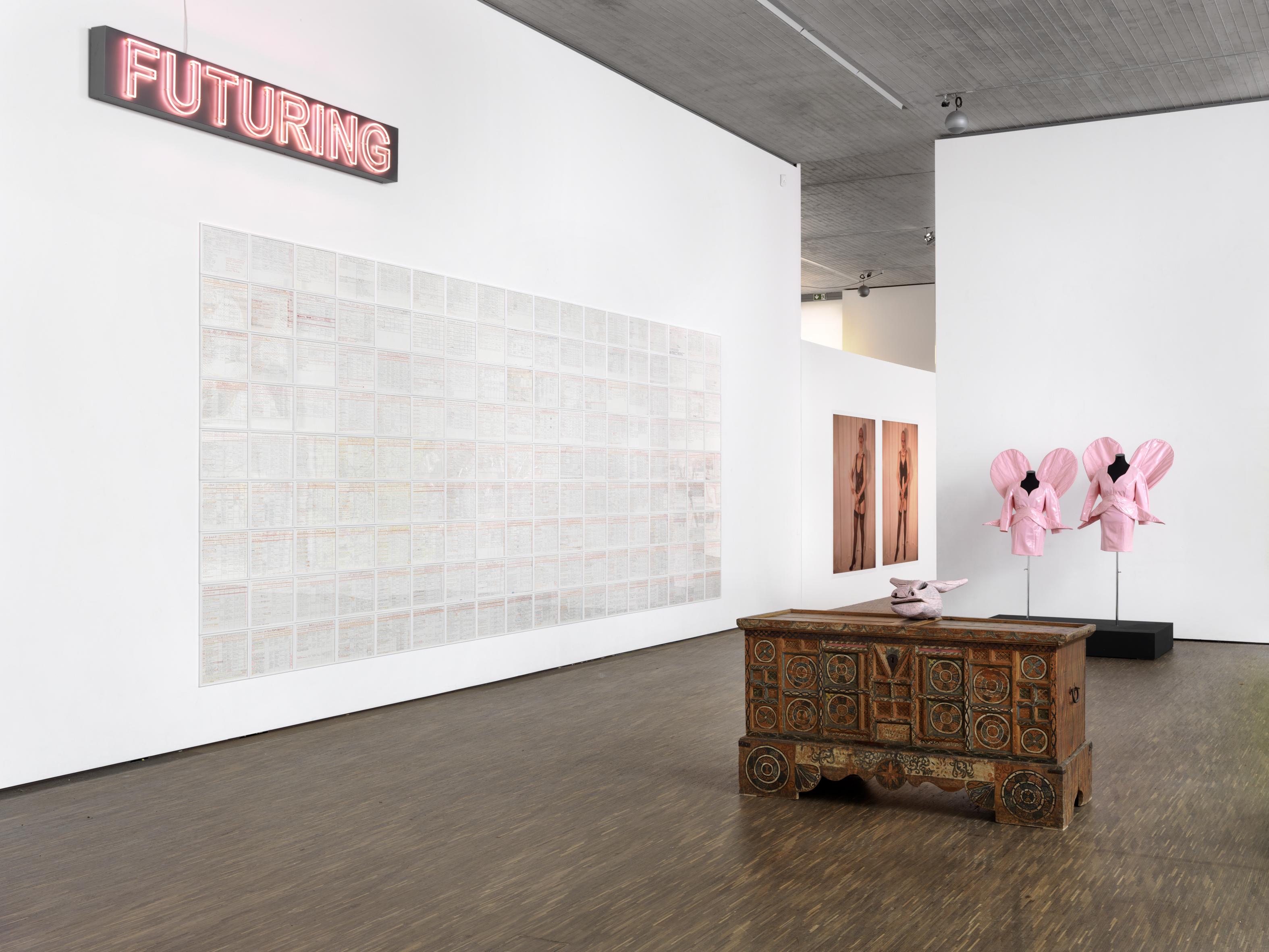Eva und Adele - l'amour du risque, Installationsansicht, 2018, (c) me Collecotrs Room Berlin, Photo Bernd Borchardt