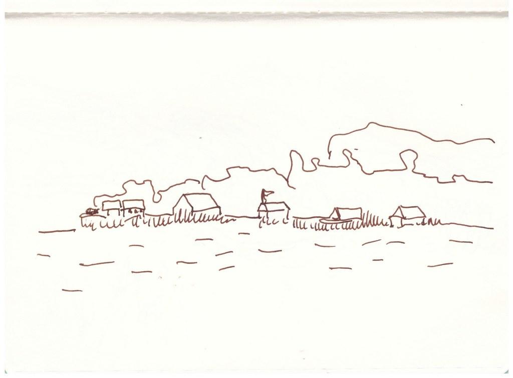 Krakow am See (c) Zeichnung von Susanne Haun