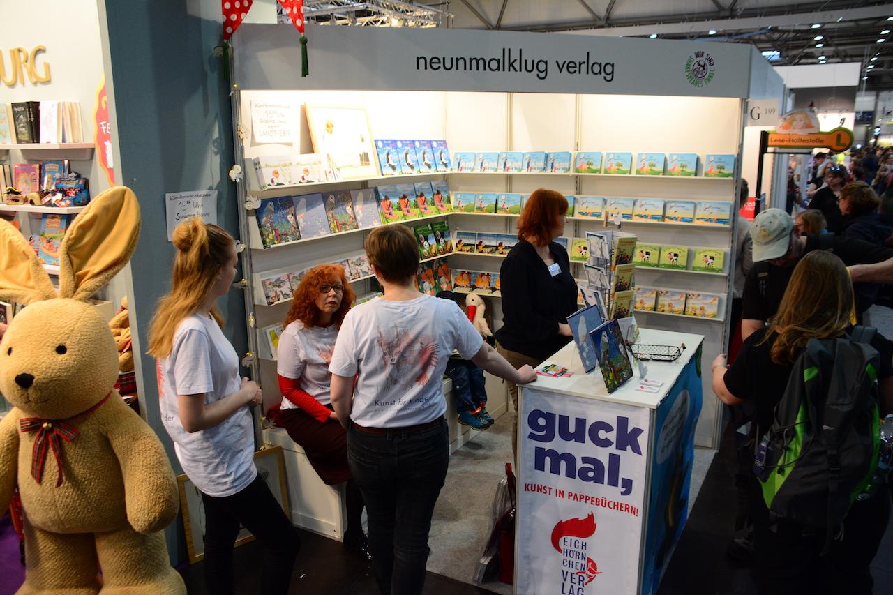 Leipziger Buchmesse 2019, Eichhörnchenverlag (c) Foto von M.Fanke.