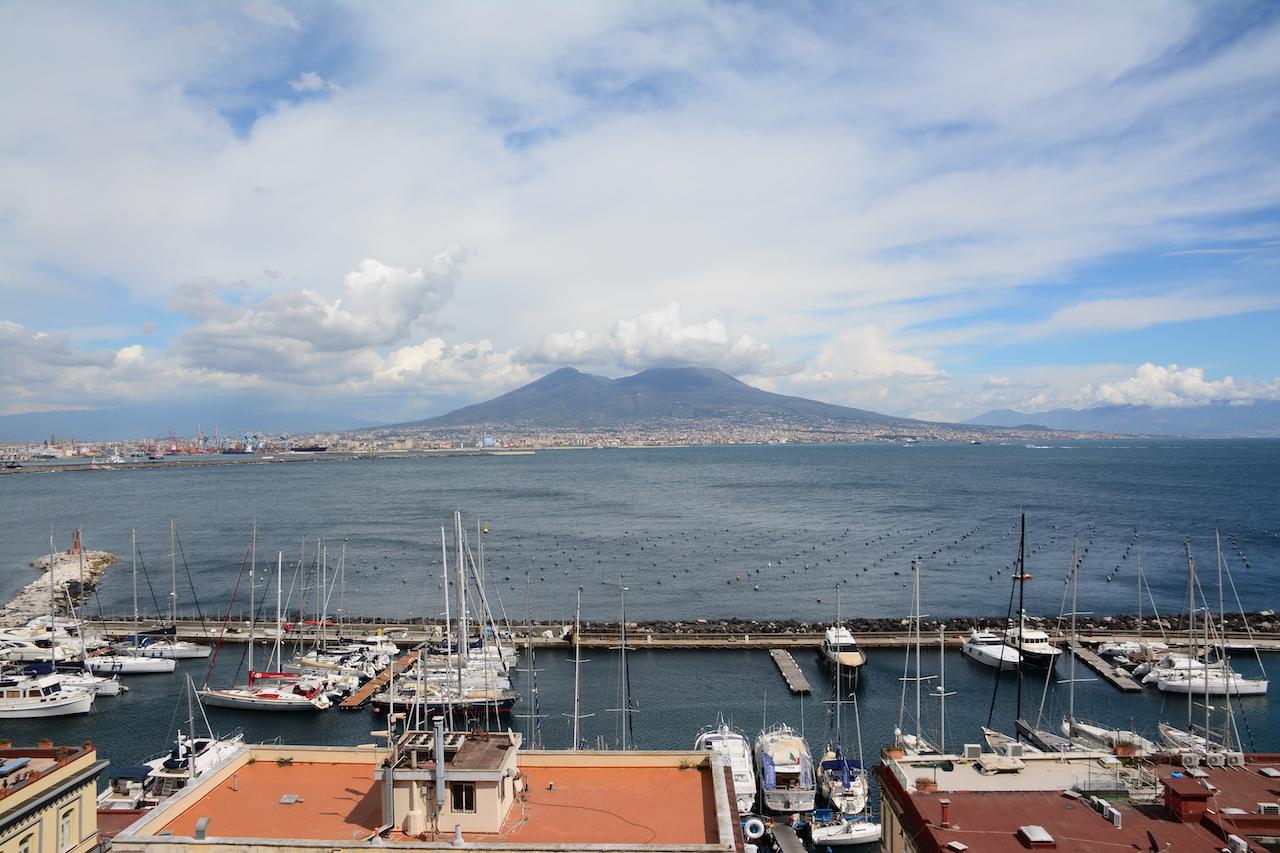 Neapel - Blick vom Castel dell Ovo - Foto von M.FankeNeapel - Blick vom Castel dell Ovo - Foto von M.Fanke