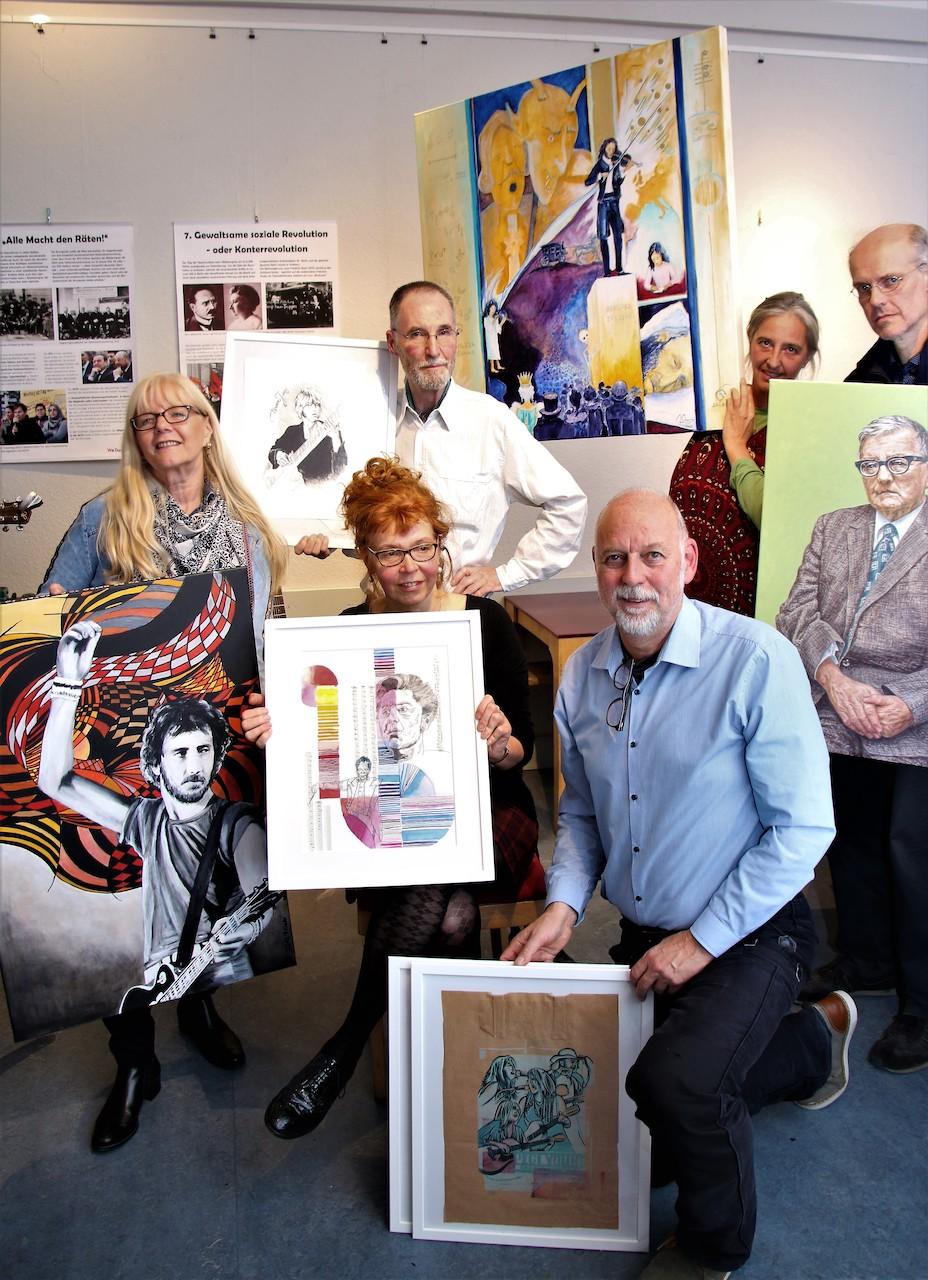 Vorstellung des Kalenders Musikerinnen und Musiker 2020, Utz Benkel Verlag (c) Foto von Wolfgang Reich