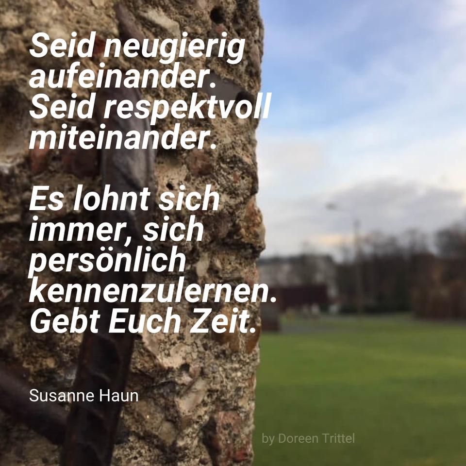 Susanne Haun - West-Berlin war ein Dorf (c) Foto von Doreen Trittel