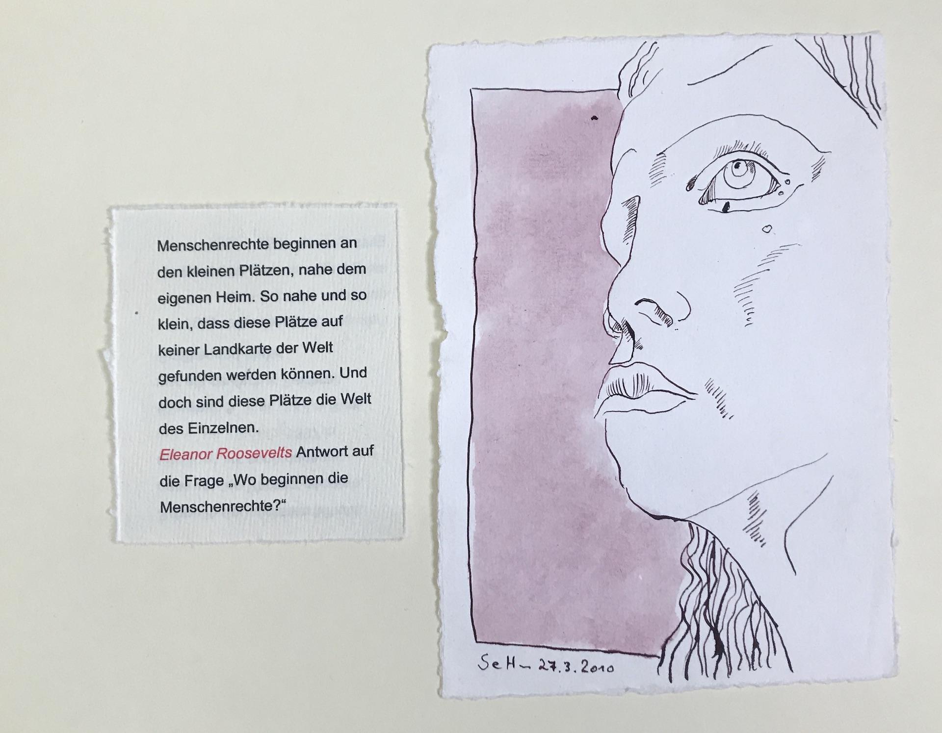 1 Deckblatt Künstlerinnen 1 Unikatbuch für Itha Bonitz (c) Susanne Haun