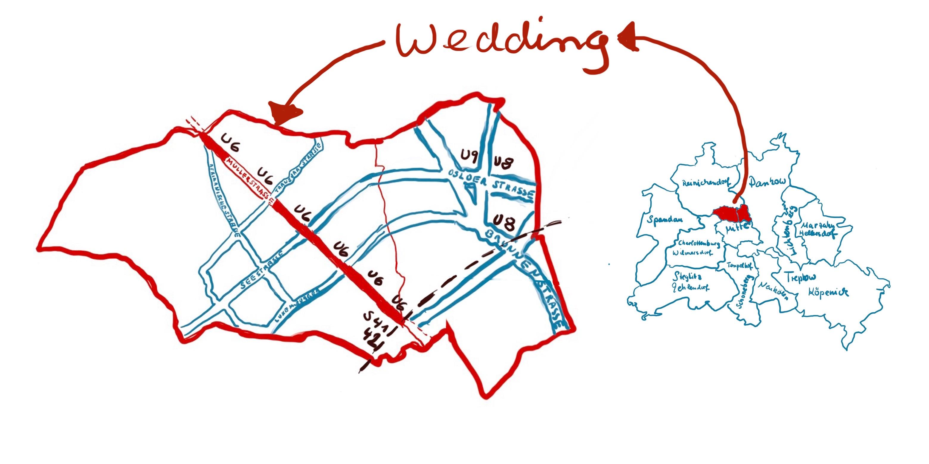 SO 65 - Eine kleine Karte vom Wedding (c) Susanne Haun