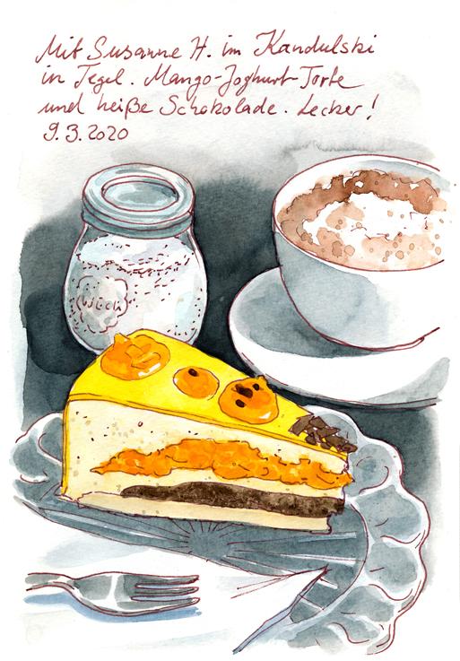 Mangotorte im Café Kandulski (c) Katrin Merle