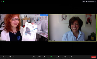 Susanne Haun und Claudia Jahnke im Gespräch über den Flughafen Tegel