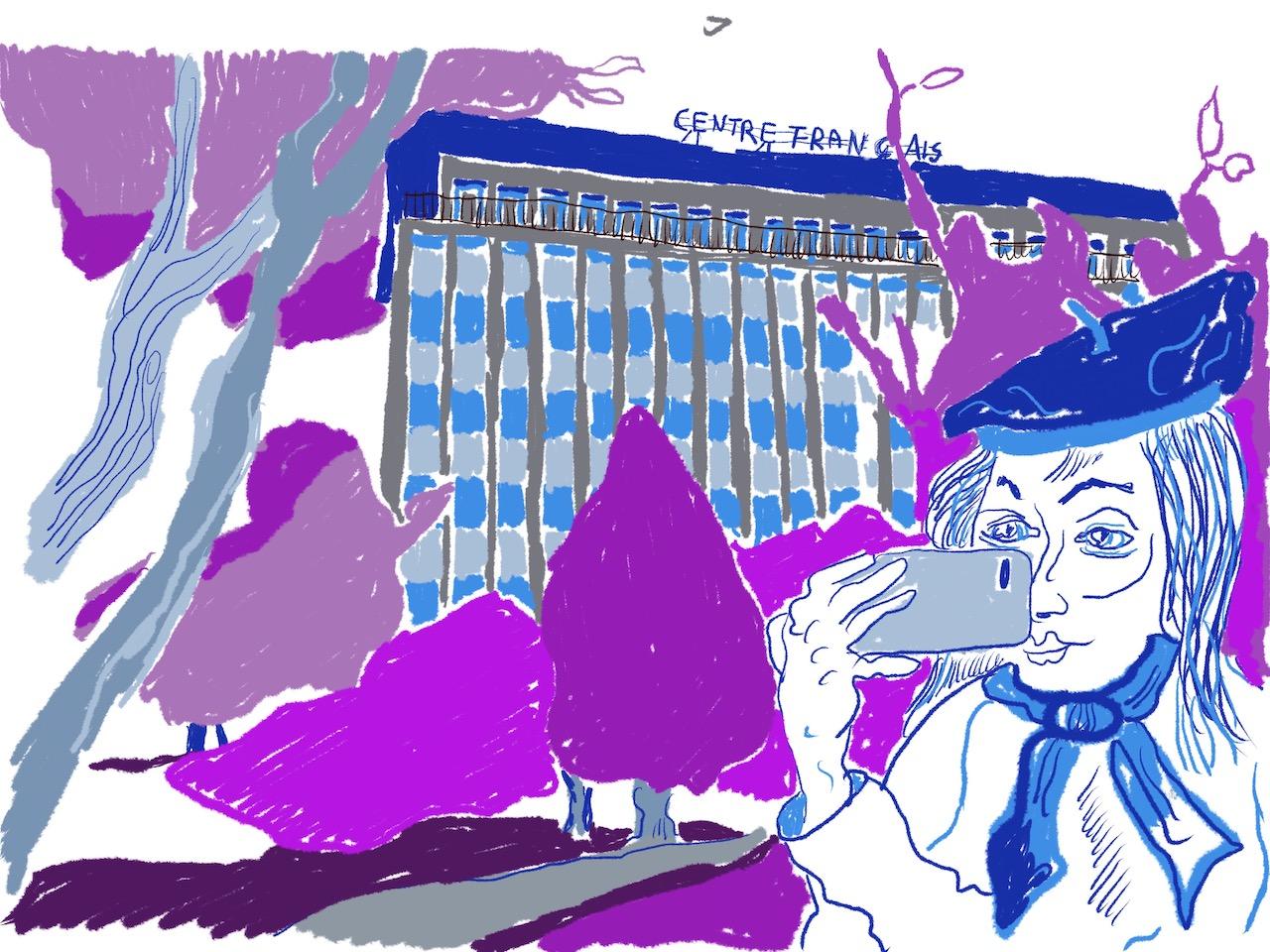 4 Entwurf für Mein Wedding 2020 vom Centre Francais von Susanne Haun (c) VG Bild-Kunst, Bonn 2020