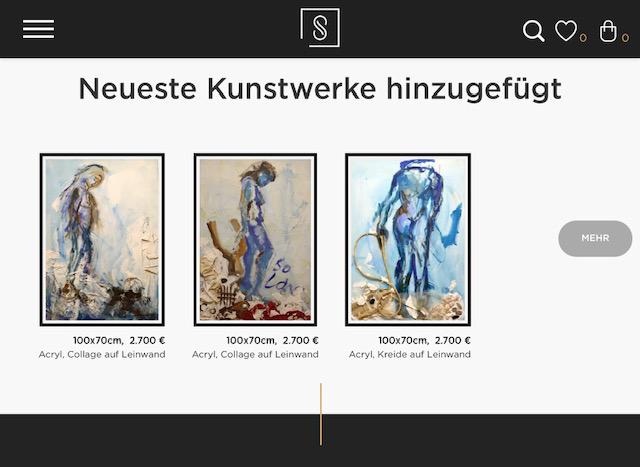 Susanne Haun aus der Serie Assemblagen bei der Pariser Galerie Singulart
