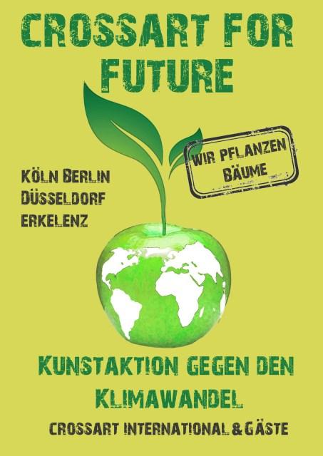 Plakat crossart for future (c) Peter Mück